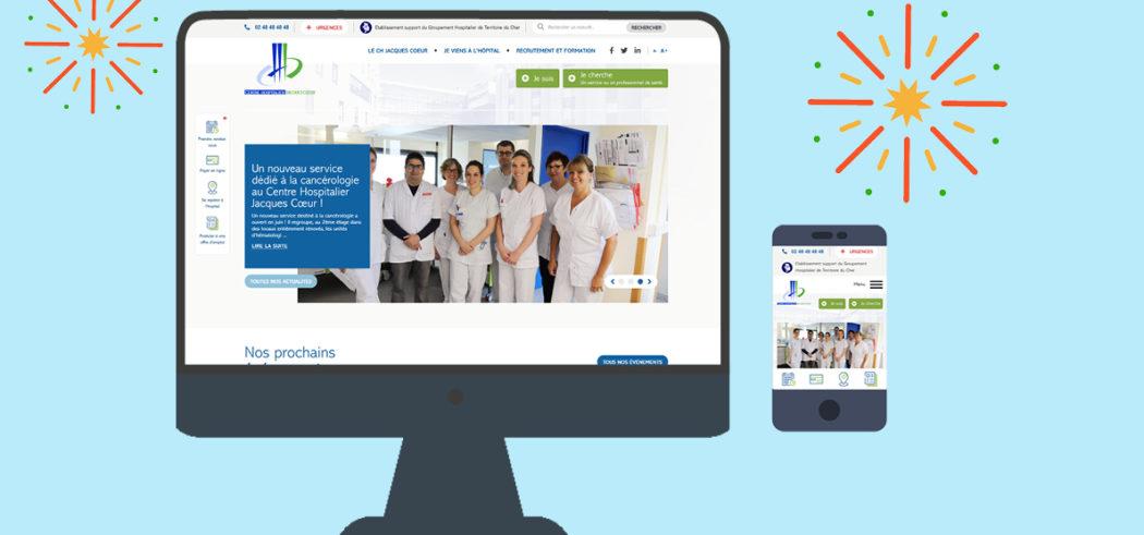 Centre Hospitalier Jacques Coeur - Accueil